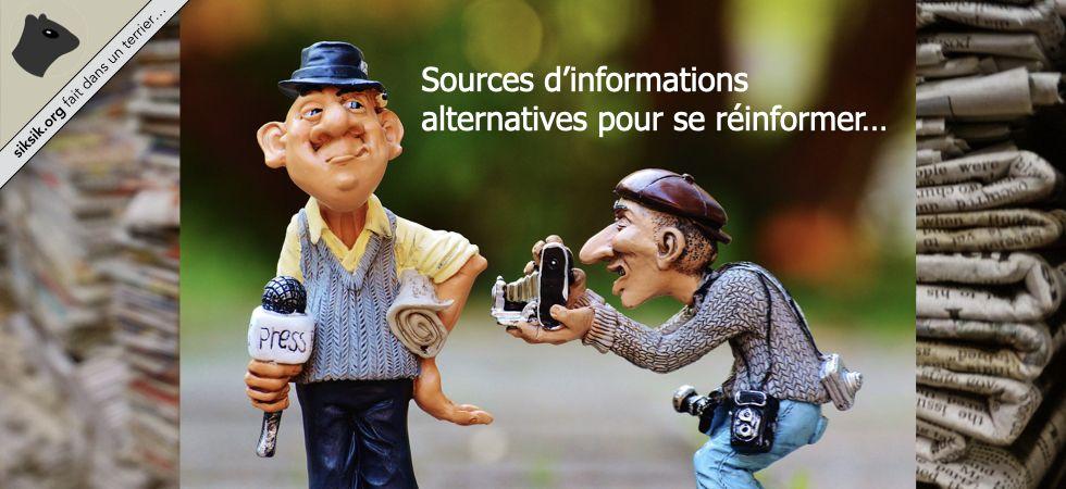 Sources d'informations alternatives
