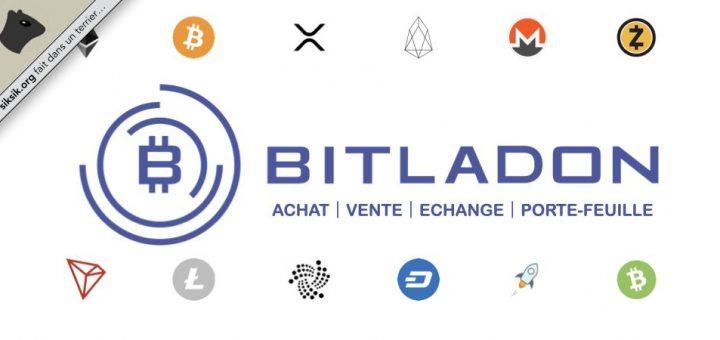 Bitladon, achat, vente, échanges et stockage de crypto-monnaies