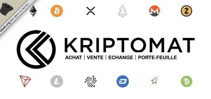 Kriptomat pour acheter et vendre vos crypto-monnaires