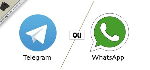 Telegram ou WhatsApp ?