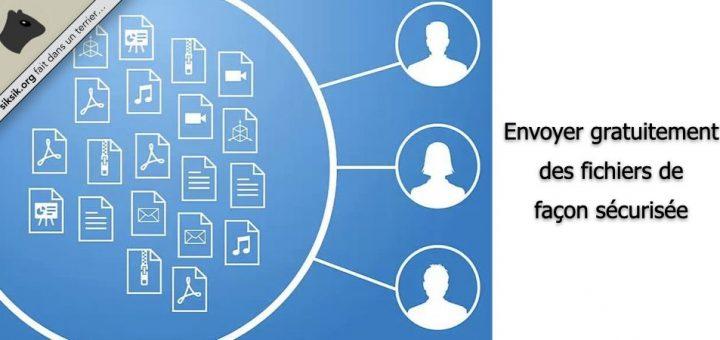 Envoyer gratuitement des fichiers de façon sécurisée
