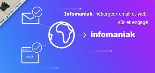 Infomaniak hébergeur email et web