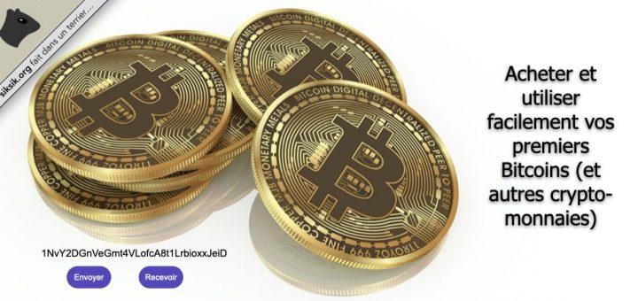 Acheter et utiliser facilement vos premiers Bitcoins (et autres crypto-monnaies)