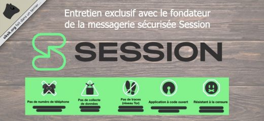 L'application de messagerie privée Session