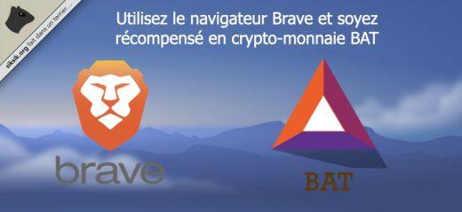 Soyez récompensé en crypto-monnaie BAT lorsque vous utilisez le navigateur Brave