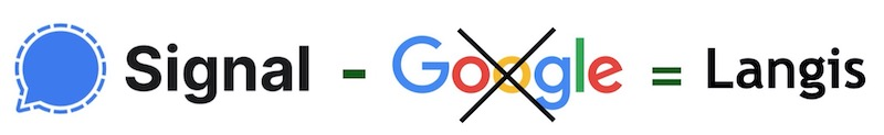 Langis, un Signal sans Google