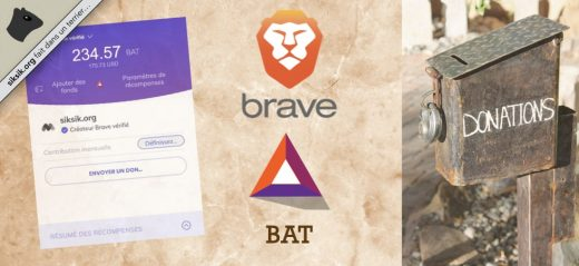 Faire un don à l'auteur d'un site Internet avec la crypto-monnaie BAT