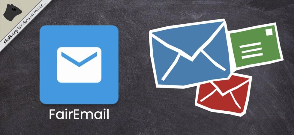 FairEmail, l'application de gestion d'e-mails
